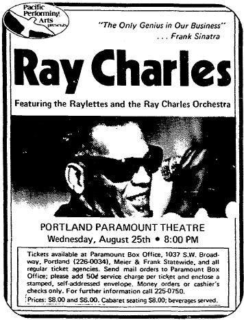 Concert-Ad-Paramount-Ray-Charles-Portland-Oregonian-0724-19760825